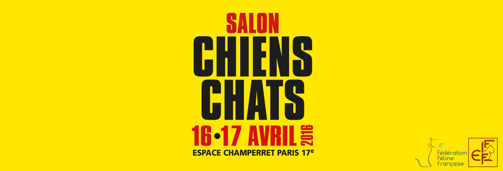 Exposition f line de paris salon chiens chats 2016 for Porte de champerret salon chiens chats